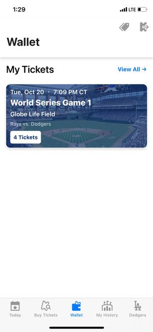 2020 World Series for Sale in Arlington, TX