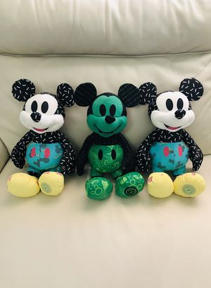 BRAND NEW!!! Mickey Mouse Limited release Plushies for Sale in Phoenix, AZ