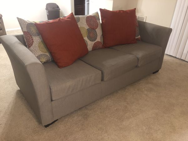 Contemporary Loveseat and Sofa Set