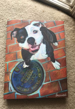 Pit bull poster for Sale in West Palm Beach, FL