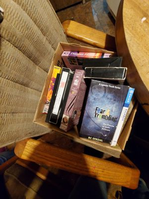 2 boxes of vhs movies for Sale in Delta, CO