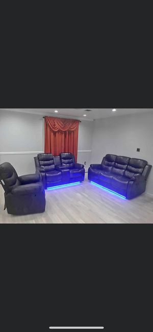 Brand New 2 pce Sofa recliner Set For $899$ financing available no credit check 40$ down for Sale in Queens, NY
