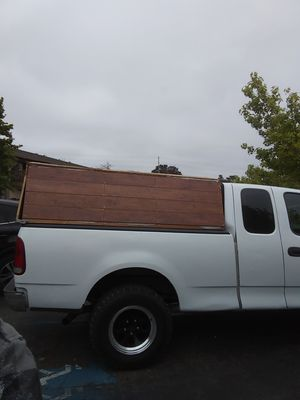 Wooden camper shell for Sale in San Diego, CA