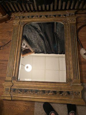Antique original Bettis Brooke Mirror! Approximately 4 ft by 3 ft for Sale in Philadelphia, PA
