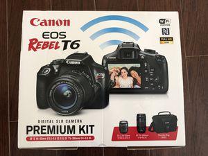 Canon eos Rebel T6 camera for Sale in MAGNOLIA SQUARE, FL
