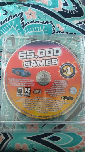 PC game 55,000 games for Sale in Melbourne, FL