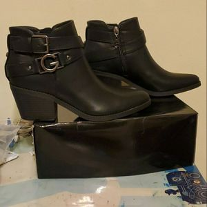 Guess black Dustyn booties for Sale in Alexandria, VA