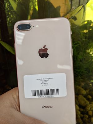 iPhone 8 plus 64 GB unlocked store Warranty excellent condition and for Sale in Winter Hill, MA
