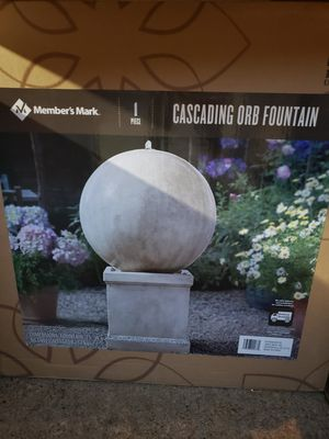 Cascading Orb Fountain for Sale in Dallas, TX