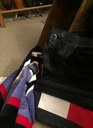 Back pack & beach towel/cooler for Sale in Bethel Park, PA