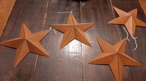 Metal stars-new - all 4 for Sale in Prattville, AL