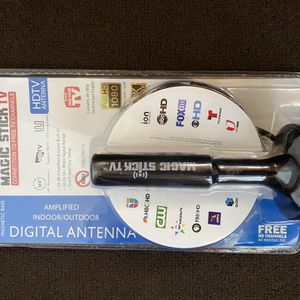 (NEW) Magic Stick MS 50 Amplified TV Antenna for Sale in Canton, TX