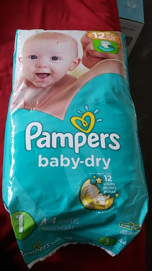 Pampers size 1 for Sale in Fresno, CA