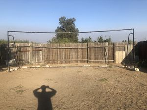 Soccer Goal 24 x 8 with net for Sale in Selma, CA