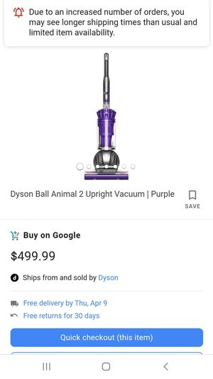 Dyson ball animal 2 vacuum for Sale in West Alton, MO