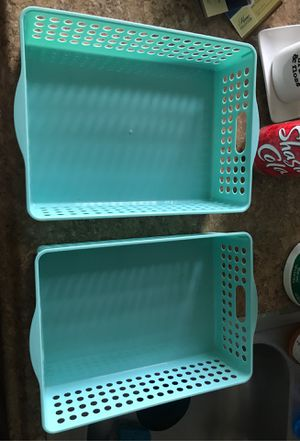 Plastic container/Drawers organizers for Sale in Gardena, CA
