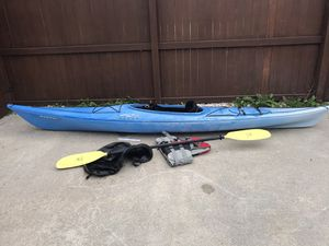 Necky Manitou Touring Kayak Fishing Paddle Life vest for Sale in Virginia Beach, VA