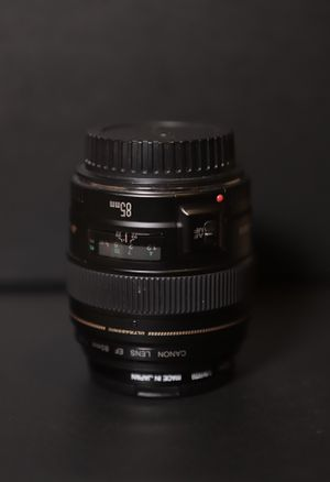 Canon EF 85mm f/1.8 USM Prime Lens for Sale in Renton, WA