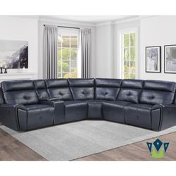 Reclining Sectional Sofa. SPECIAL OFFER. $53 DOWN PAYMENT for Sale in Edgewood,  FL