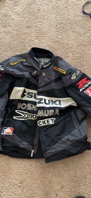 Suzuki joe rocket motorcycle jacket. 3xl for Sale in Bowie, MD