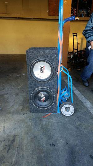 12 Mtx Audio speaker & a 12 Punch speaker for Sale in Redwood City, CA