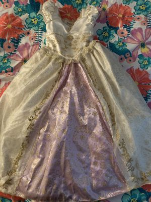Party Costume Disney Store Tangled Dress Girls Size 10 for Sale in Ceres, CA