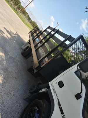 Npr isuzu flatbed truck for Sale in Houston, TX