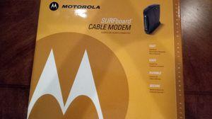 Motorola Surfboard Cable Modem SB5100 for Sale in Wimauma, FL