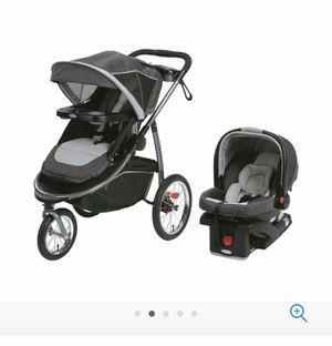 Stroller, Graco modes jogger travel system. Coche de bebe marca graco for Sale in Miami, FL