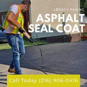 Asphalt paving and seal coating for Sale in Strongsville, OH