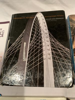 University physics with modern physics 13th edition for Sale in Irvine, CA