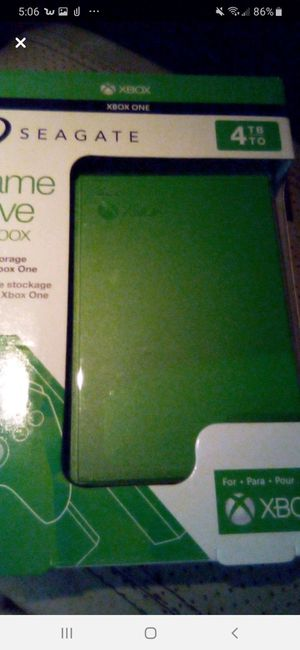 NIB 4TB SEAGATE GAME DRIVE FOR XBOX for Sale in St. Louis, MO
