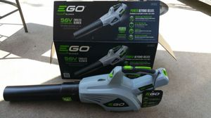 EGO 480 CFM 3-Speed Turbo 56-Volt Lithium-ion Cordless Electric Blower for Sale in Flint, MI