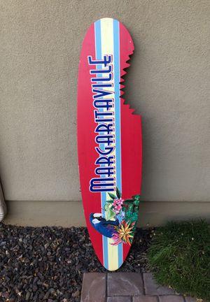 Margaritaville wooden surfboard. for Sale in Phoenix, AZ
