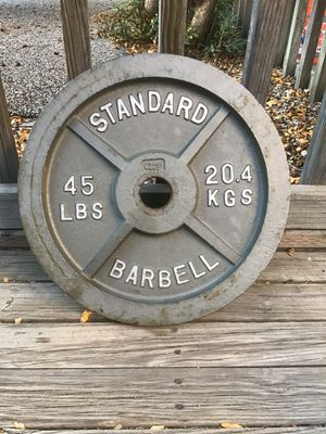 Olympic weight, 45lb. for Sale in Long Beach, CA