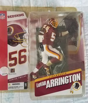 Washington Redskins Lavar Arrington NFL collectable toy figure. for Sale in Stockton, CA