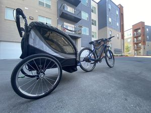 E Bike w/Childrens Trailer/Personal Push Cart for Sale in Midvale, UT