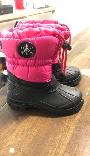 Girl snow boots for Sale in San Jose, CA