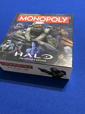 MONOPOLY HALO BOARD GAME COLLECTORS EDITION for Sale in Chula Vista, CA