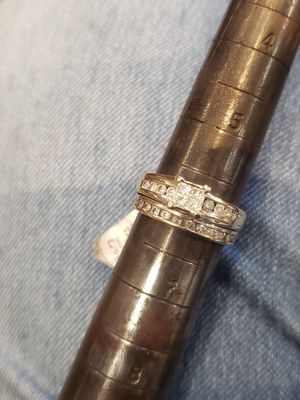 White gold diamond ring size 6 for Sale in Pflugerville, TX