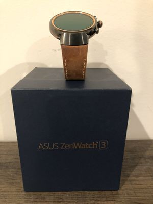 Asus zenWatch 3 like new no scratches. for Sale in Duncan, SC