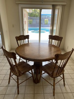 Oak Dining Table for Sale in Manteca, CA
