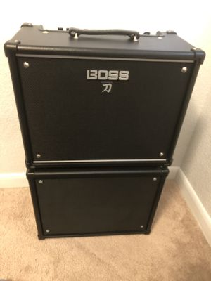 Custom Boss Katana 50 1x12 for Sale in Boulder, CO