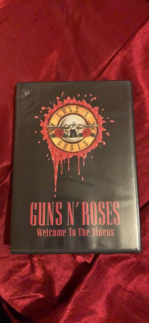 Guns and Roses video DVD for Sale in Avis, PA