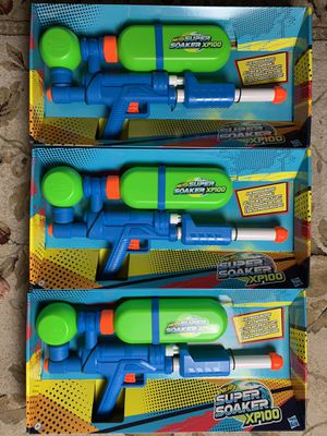 Super Soaker XP 100 Water Gun Limited Edition Brand New 2020 Nerf IN HAND for Sale in Herndon, VA