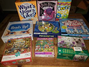 Games and Puzzles for Sale in Cibolo, TX