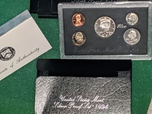 1994 U.S. Silver Proof Gem Set OGP, brand new(c pic 2) for Sale in Pittsfield, MA
