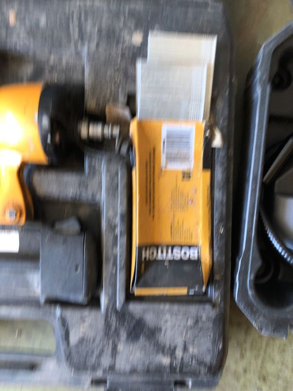 Bostitch Brad nailer