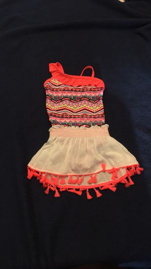 NEW Arizona Jean Co Bathing Suit with Skirt Size 4/5 for Sale in Port Orchard, WA