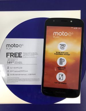 Moto e5 Play for Sale in San Angelo, TX